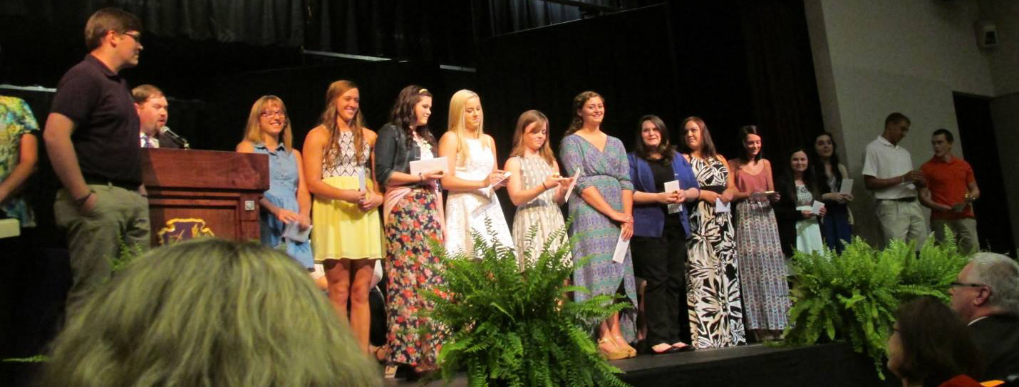 2014 scholarship recipients